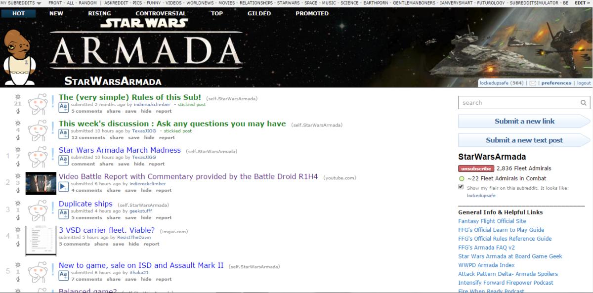 armada subreddit