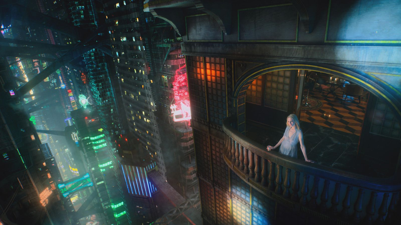 Altered Carbon Male Frontal altered carbon' features one woman under the age of 50 who