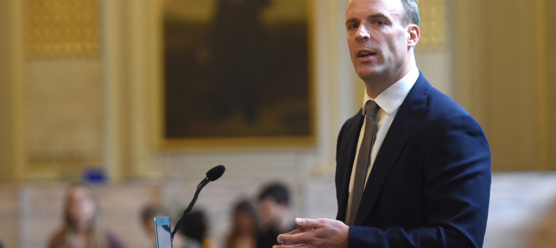 Dominic Raab: Britain's Champion Of Democracy